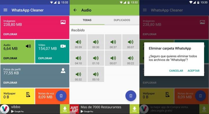 Imagen - Cleaner for WhatsApp, libera espacio de tu Android