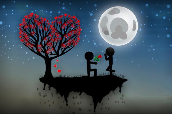 No pueden faltar las flores: el amor se riega, todos los días.