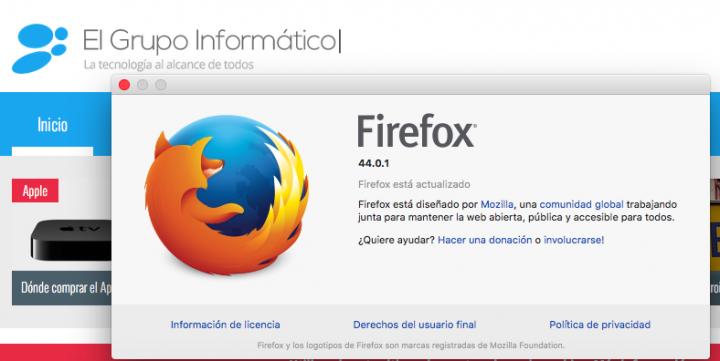 Imagen - Descarga Firefox 44.0.1, una versión que soluciona muchos problemas