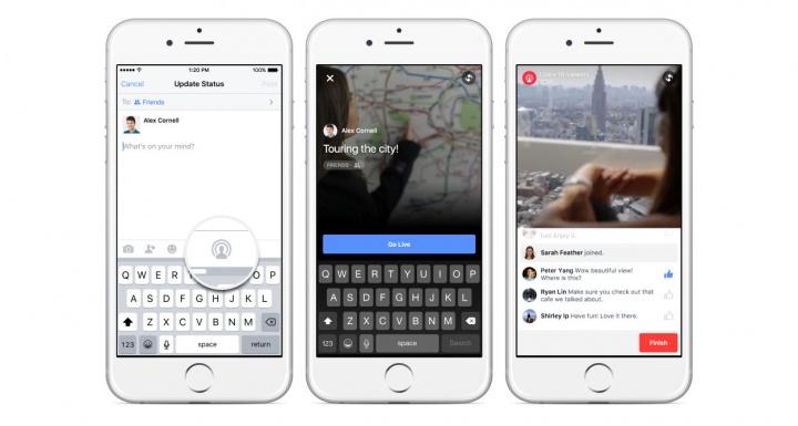 Imagen - Facebook Live Video lleva a todo el mundo los vídeos estilo Periscope