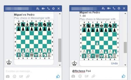 Imagen - Truco: Juega al ajedrez en Facebook Messenger