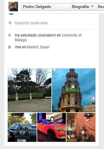 Imagen - Facebook ya permite añadir una biografía y fotos destacadas