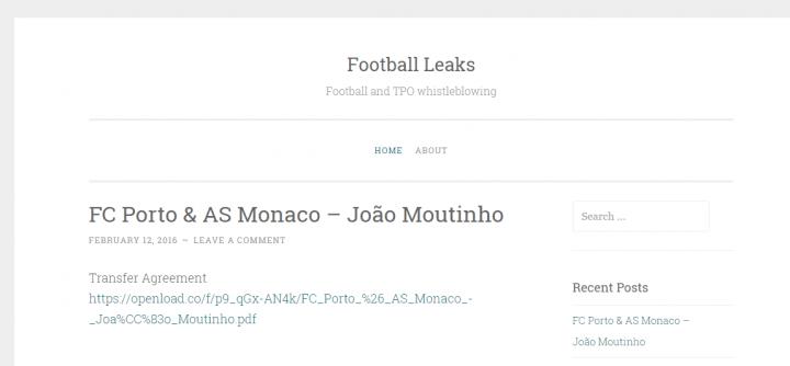 Imagen - Football Leaks, el WikiLeaks del fútbol sigue filtrando