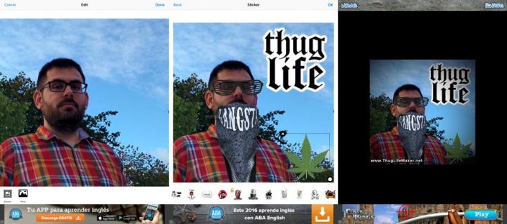 """Imagen - Cómo generar imágenes de """"Thug life"""""""