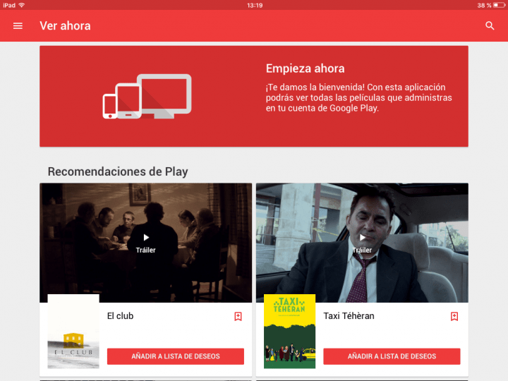 Imagen - 5 apps para ver películas en el iPad