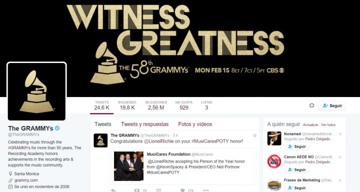 Imagen - Cómo ver online los Premios Grammy