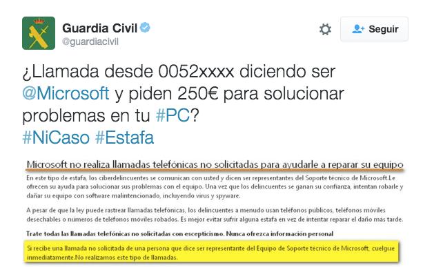 Imagen - Cuidado con las falsas llamadas de Microsoft que te piden 250 euros