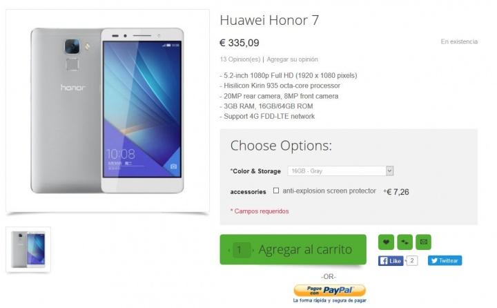 Imagen - Dónde comprar el Honor 7