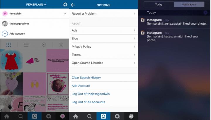 Imagen - Instagram ya permite múltiples cuentas en iOS