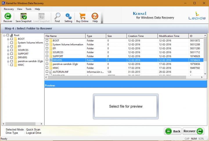 Imagen - Review: Kernel for Windows Data Recovery, recupera tus archivos borrados de forma sencilla