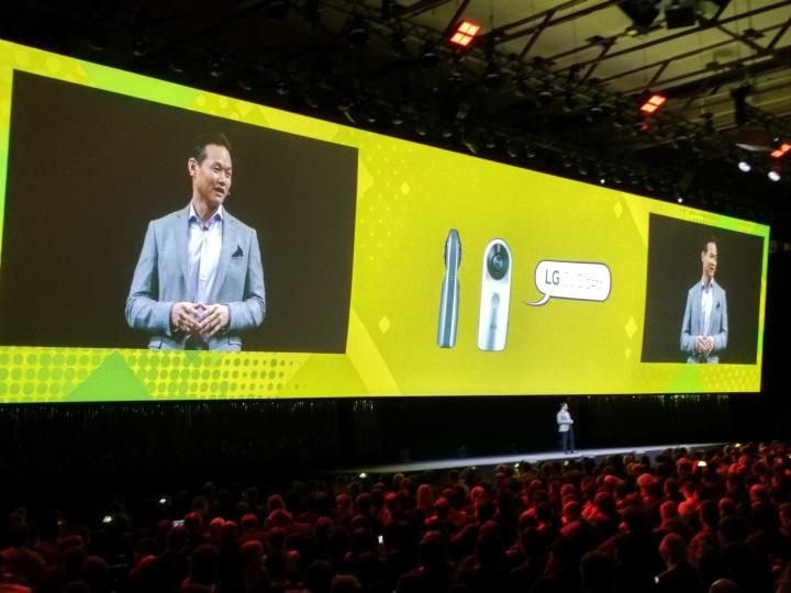 LG 360 Cam y LG 360 VR: Toda la información