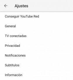 Imagen - Cómo desactivar las notificaciones de YouTube