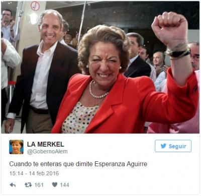 Imagen - Los mejores memes de la dimisión de Esperanza Aguirre