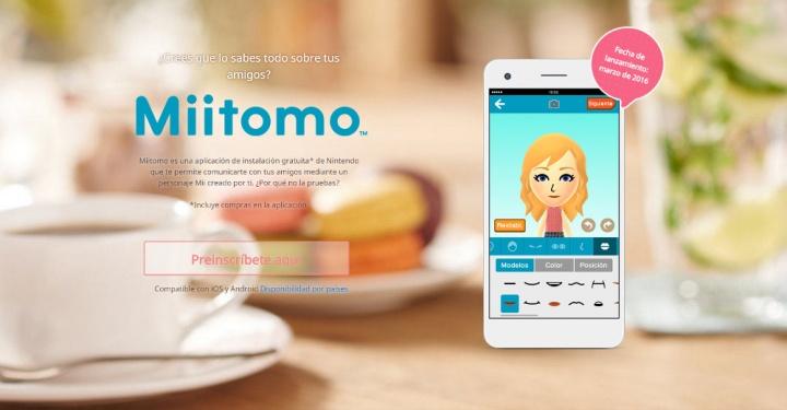 Imagen - Cómo crear tu cuenta Nintendo para Miitomo