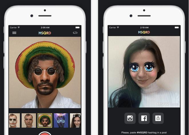 Imagen - MSQRD, la app para los selfies más graciosos