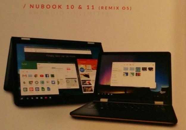 Imagen - Wolder Nubook 10 y 11 con Remix OS: Toda la información