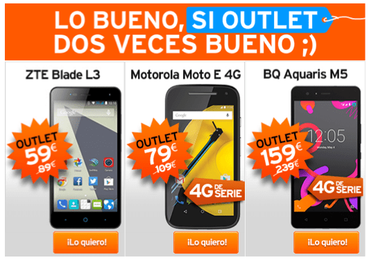 Imagen - Simyo estrena tienda de móviles Outlet