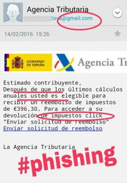 Imagen - Cuidado con los falsos emails de Agencia Tributaria