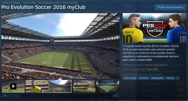 Imagen - Descarga Pro Evolution Soccer 2016 gratis para PC