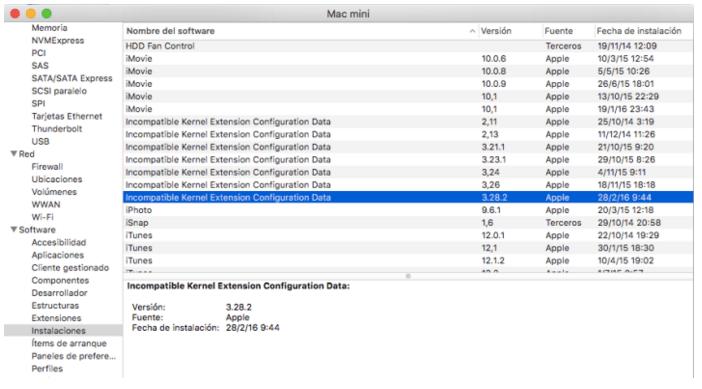Imagen - Apple inutiliza la conexión de red en los Mac y lanza un parche para solucionarlo