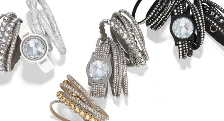 Activity Crystal, la pulsera de fitness elegante de Swarovski y Misfit