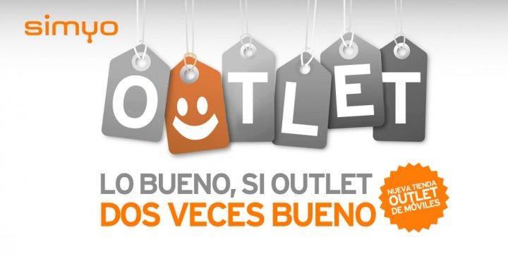 Simyo estrena tienda de móviles Outlet