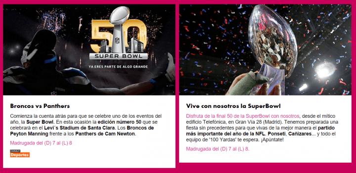 Imagen - Cómo ver la Super Bowl online