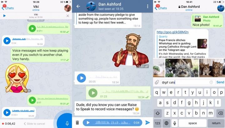 Imagen - Telegram se actualiza con muchas novedades
