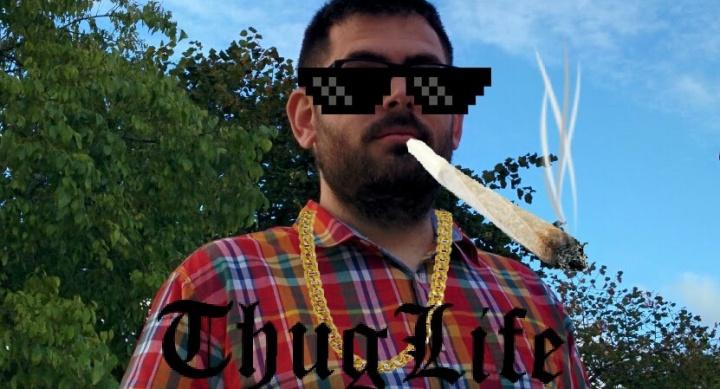 """Cómo generar imágenes de """"Thug life"""""""