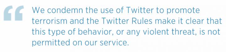 Imagen - Twitter ha eliminado 125.000 cuentas del ISIS en los últimos seis meses