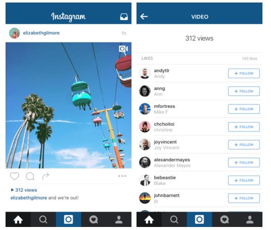Imagen - Instagram mostrará las visualizaciones de los vídeos