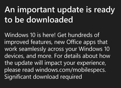 Imagen - Windows 10 Mobile ya es oficial