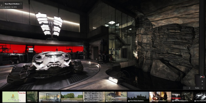 Imagen - Visita la Batcueva de Batman en Google Street View