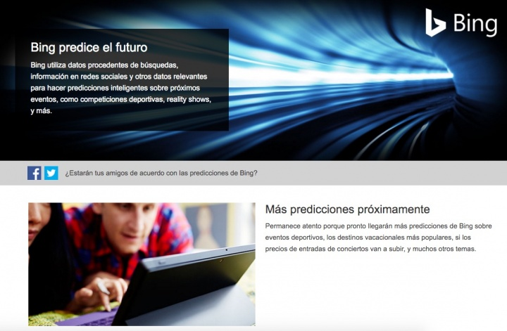 Imagen - Bing predecirá los partidos de la Champions