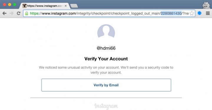 Imagen - Un fallo permitía hackear cuentas de Instagram fácilmente