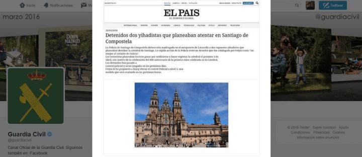 """Imagen - Corre un bulo sobre un """"atentado en Santiago"""" por WhatsApp"""
