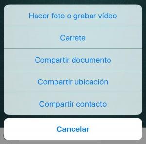 Imagen - WhatsApp ya tiene la opción de compartir documentos en iPhone