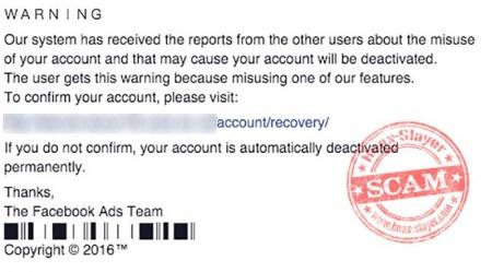 Imagen - ¡Cuidado! Llegan falsos avisos de seguridad en Facebook