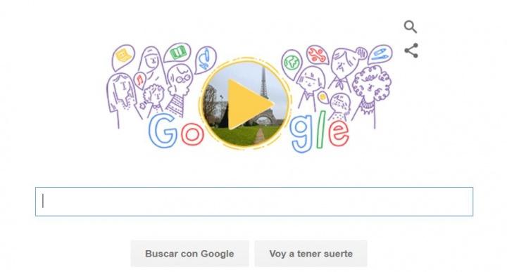 Google celebra el Día Internacional de la Mujer con un Doodle