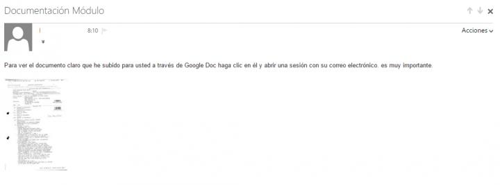 Imagen - Cuidado con correos con adjuntos de Google Drive
