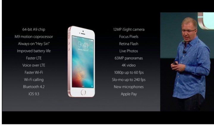 "Imagen - iPhone SE, 4"" tan potentes como el iPhone 6s"