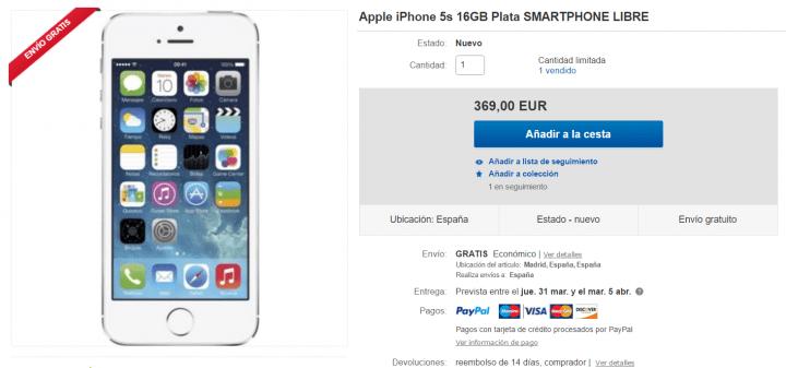 Iphone S Precio Fnac