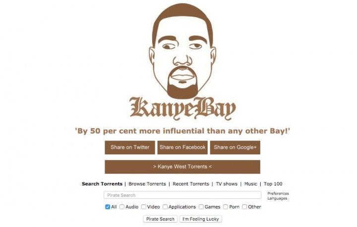 Imagen - The Kanye Bay, el TPB de Kanye West