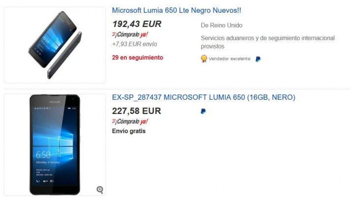 Imagen - Dónde comprar el Lumia 650