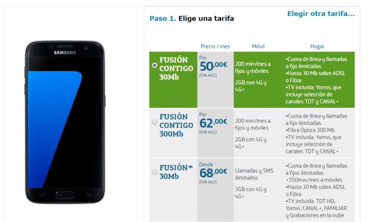Imagen - Samsung Galaxy S7: precios con Movistar