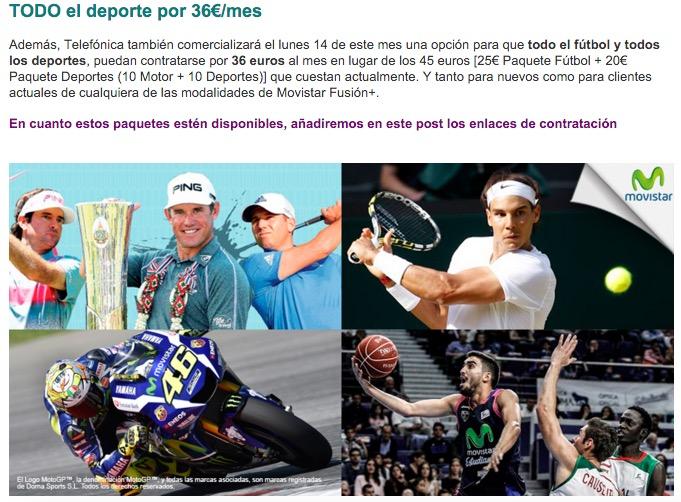 Imagen - Movistar+ lanza ofertas para disfrutar del fútbol desde 10 euros