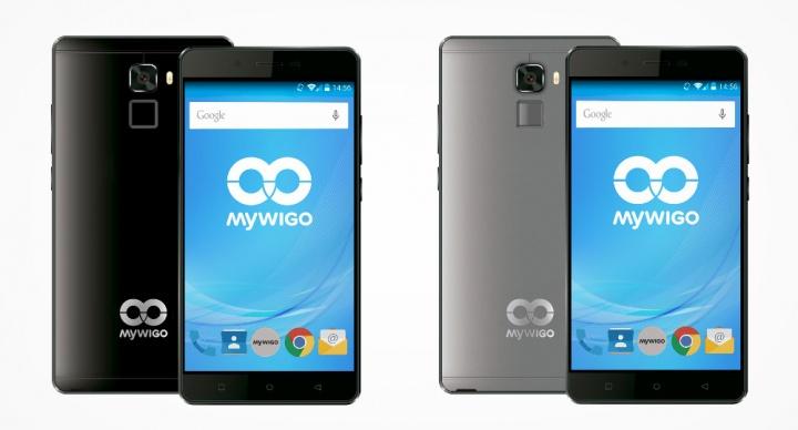 MyWigo City 2, un competitivo smartphone de 5,5 pulgadas con lector de huellas