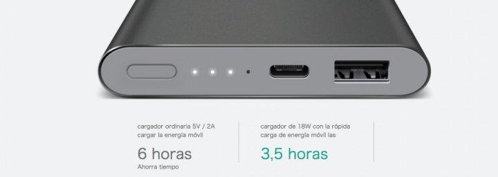 Imagen - Xiaomi lanza una batería de 10.000mAh y USB Type-C