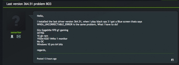 Imagen - Los drivers Nvidia GeForce 364.51 Beta siguen trayendo fallos