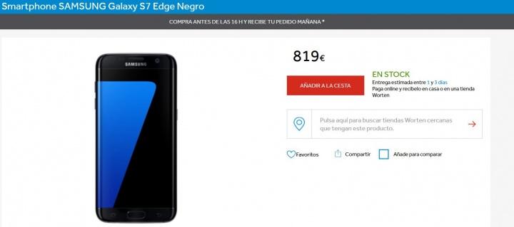 Imagen - 7 tiendas donde comprar el Samsung Galaxy S7 Edge